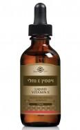 ויטמין E טבעי נוזלי Liquid Vitamin E סולגאר